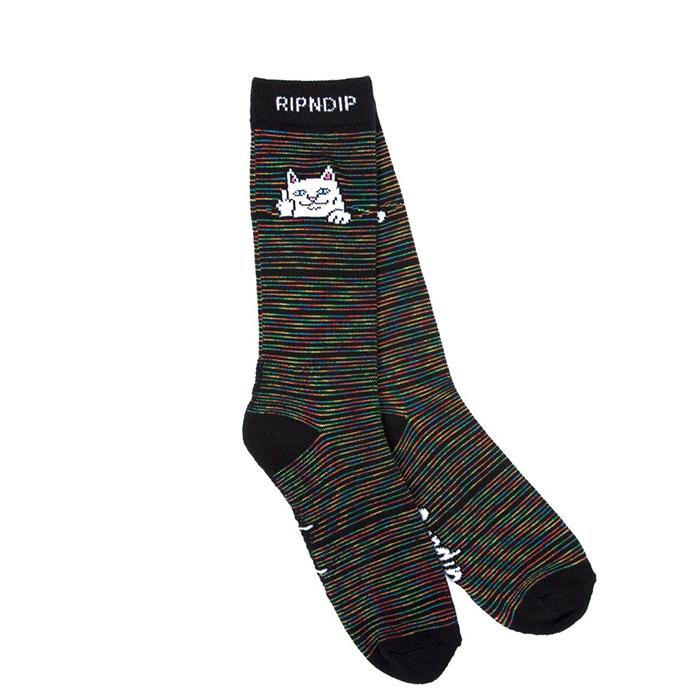 RIPNDIP Peeking Nerm Socks Space Yarn Dye