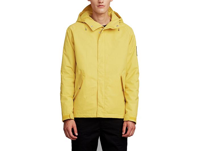 Makia X Moomin Troll Raglan Jacket Yellow