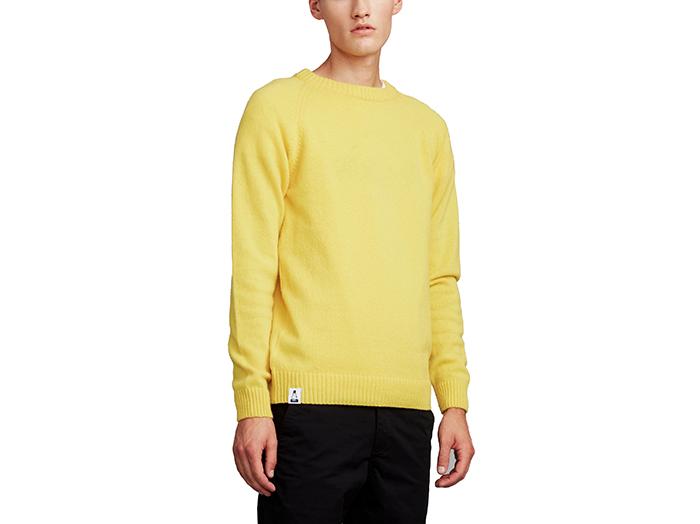 Makia X Moomin Klovharu Knit Yellow