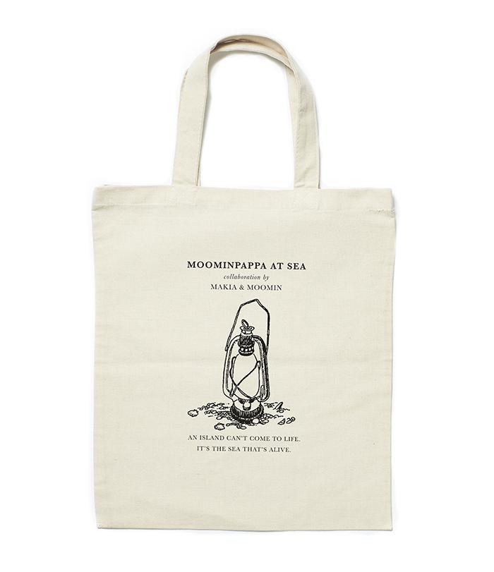Makia X Moomin Lesson Tote Bag Ecru