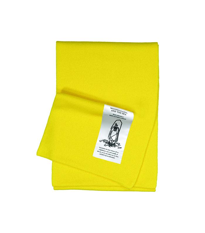 Makia X Moomin Snufkin Scarf Yellow