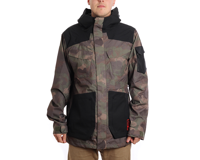 Volcom VCO Inferno Insulated Jacket Camouflage