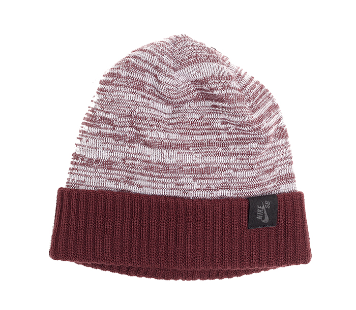 Nike SB Skateboarding Beanie Burgundy Crush / White / Black