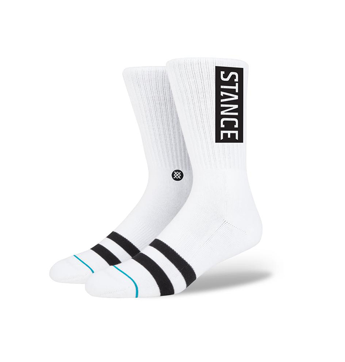 Stance Uncommon Solids OG Socks White