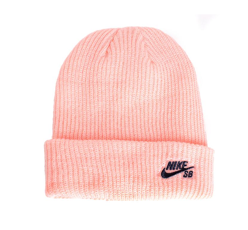 Nike SB Fisherman Beanie Storm Pink / Obsidian
