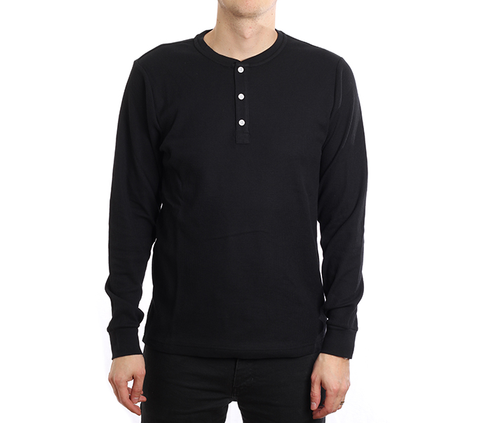 Nike SB Dri-Fit Thermal Longsleeve Henley Black