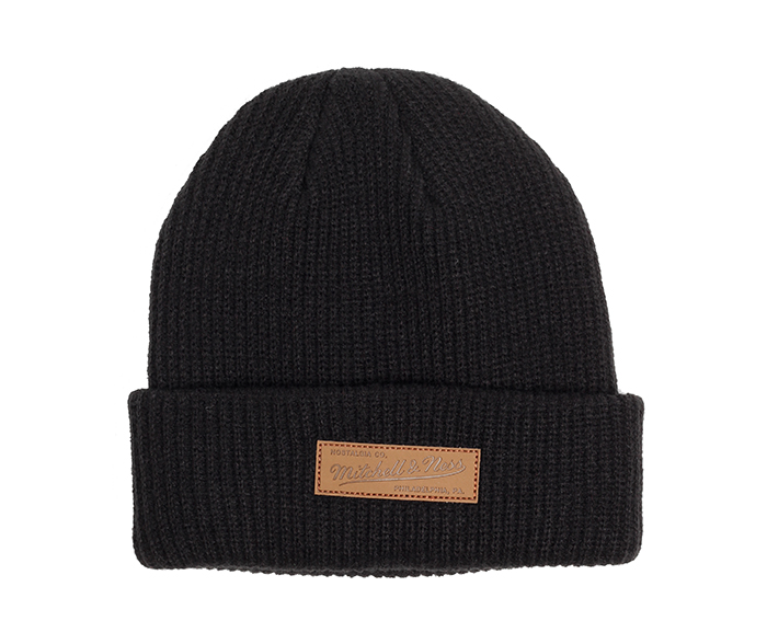 Mitchell & Ness Philly Knit Beanie Black