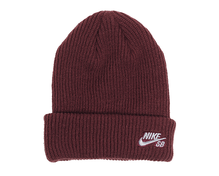 Nike SB Fisherman Beanie Storm Burgundy Crush / Gunsmoke