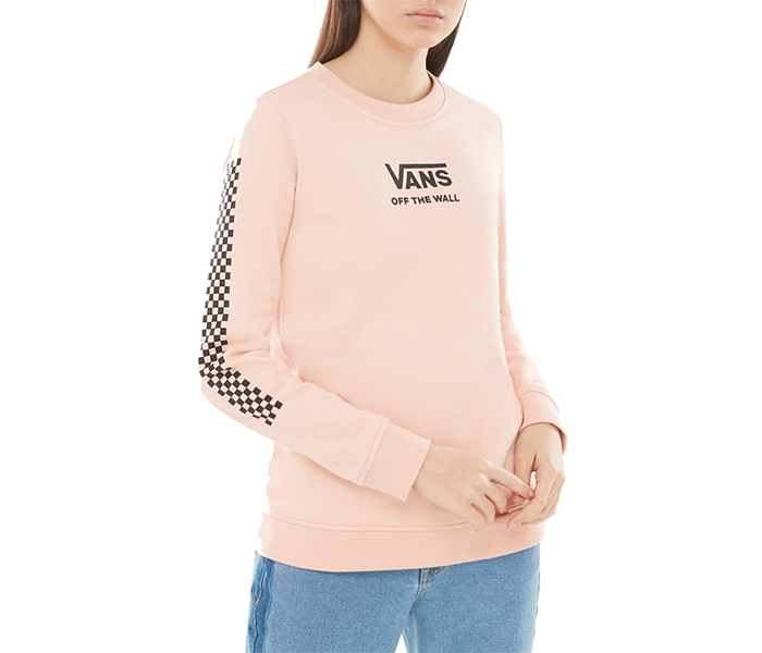 Vans Womens Funday Crew Rose Cloud