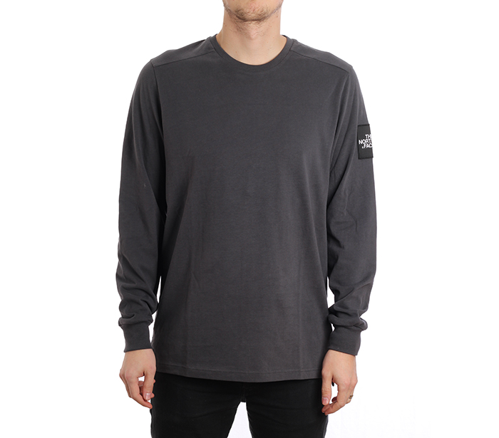 The North Face Fine 2 Longsleeve Tee Asphalt Grey