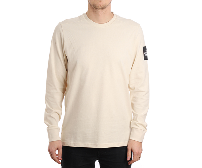 The North Face Fine 2 Longsleeve Tee Vintage White