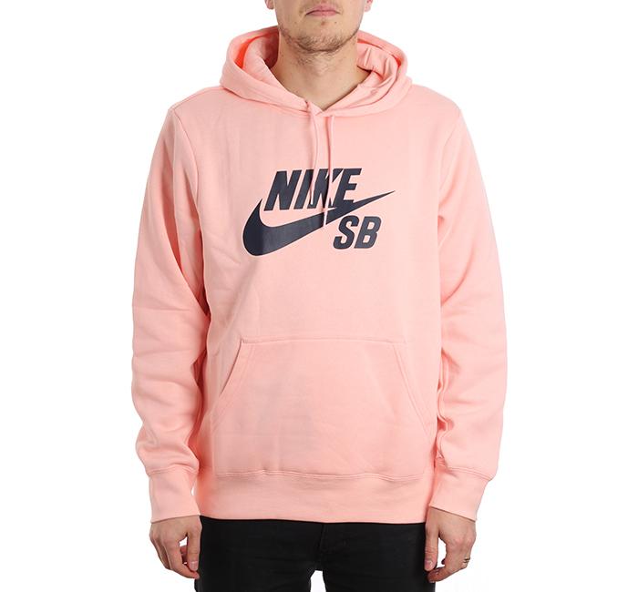 Nike SB Icon Hoodie Storm Pink / Obsidian