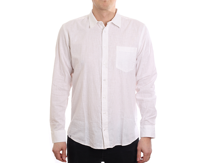 Makia Luoto Shirt Linen White