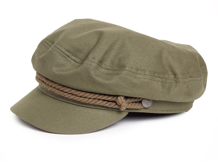b18655305 Brixton Fiddler Cap Military Olive - Boardvillage