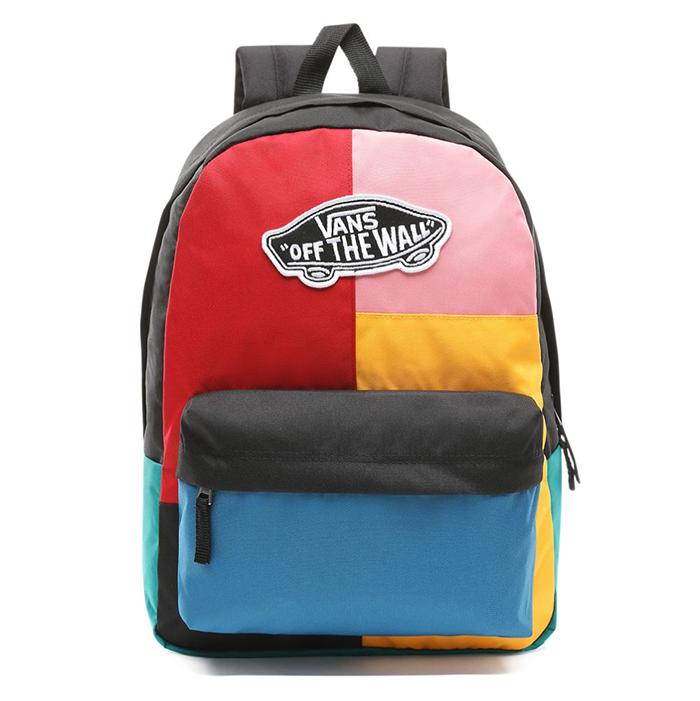 548faf3ffc6 Vans Realm Backpack Patchwork - Boardvillage