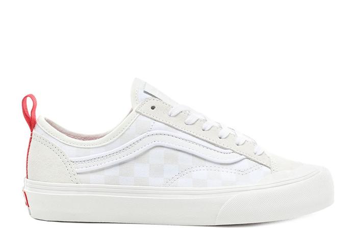 Vans Leila Hurst Style 36 Decon SF White / Checkerboard
