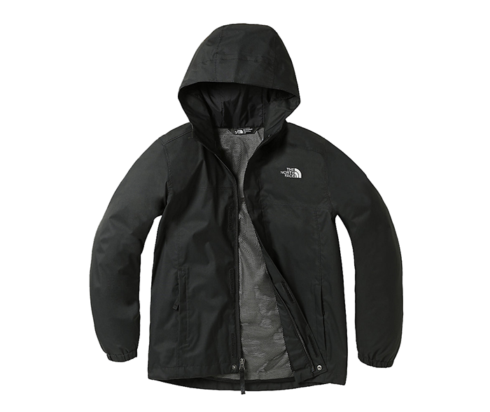 The North Face Youth Resolve Reflective Jacket Black