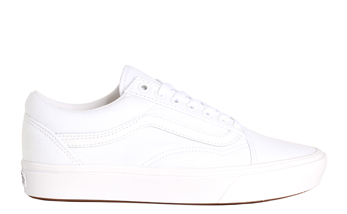 Vans ComfyCush Old Skool True White / True White