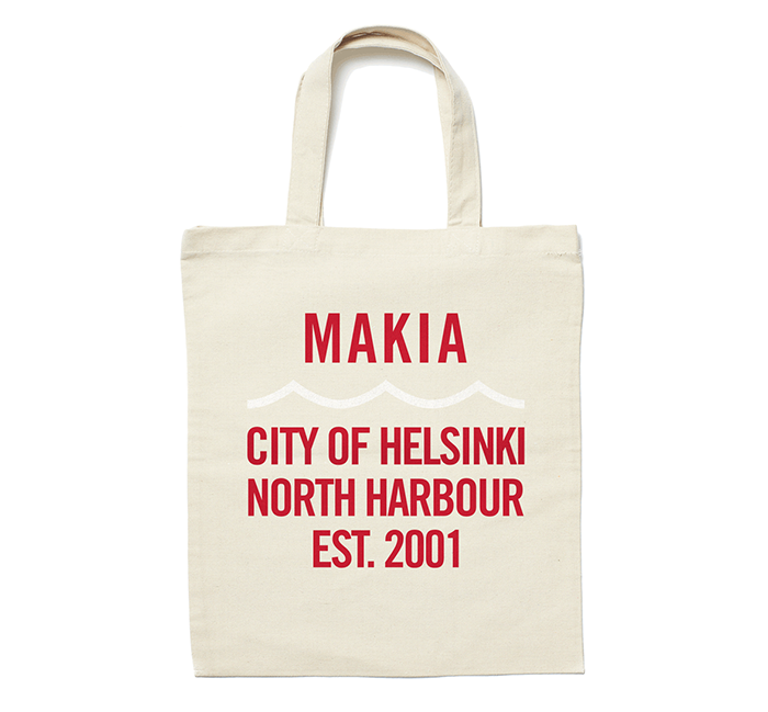 Makia Civil Tote Bag Ecru