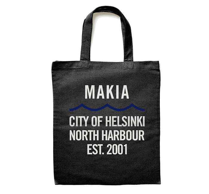 Makia Civil Tote Bag Black