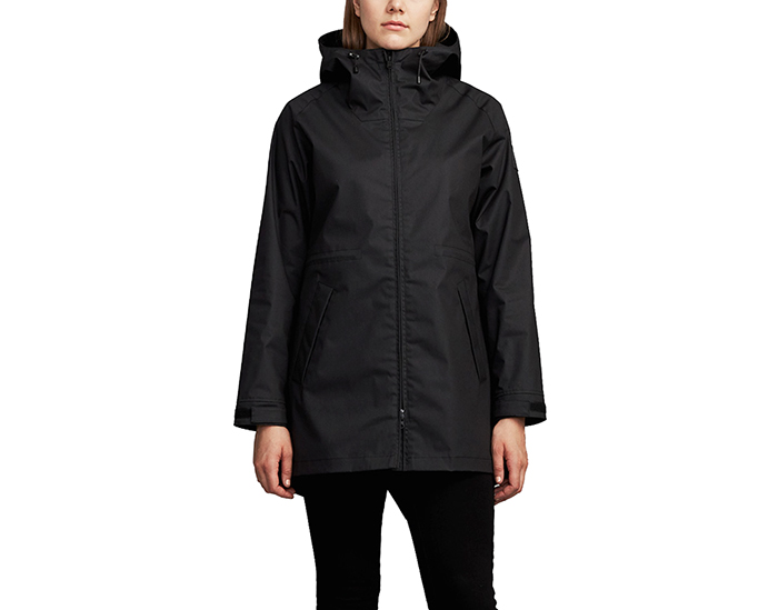 Makia Womens Fishtail Jacket Black