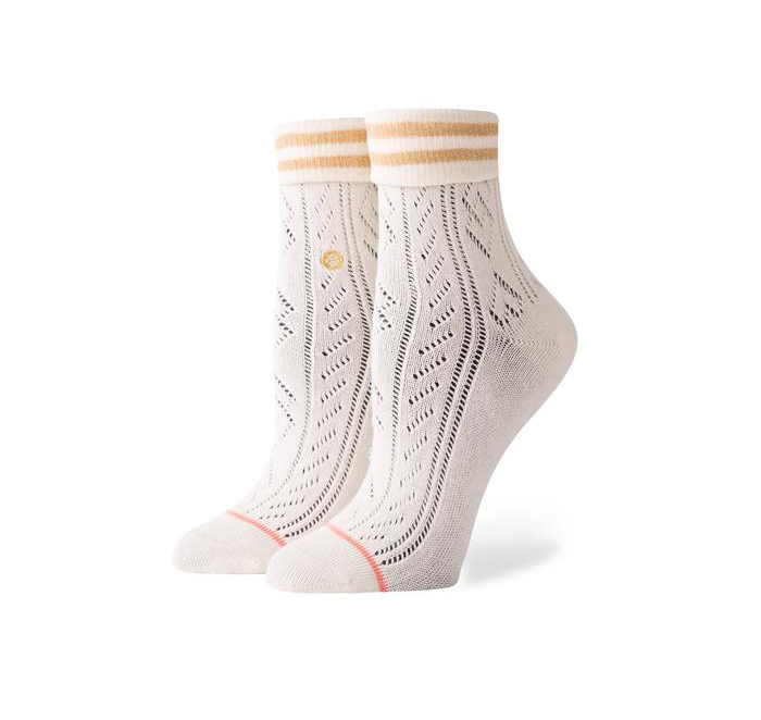 Stance Womens Divine Socks Off White