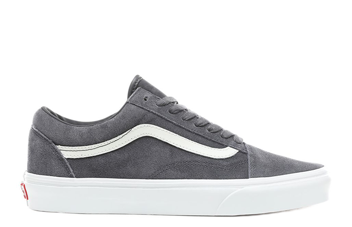 Vans Old Skool Soft Suede Ebony / True White