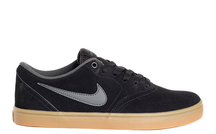 Nike SB Check Solarsoft Black / Anthracite - Gum Light Brown