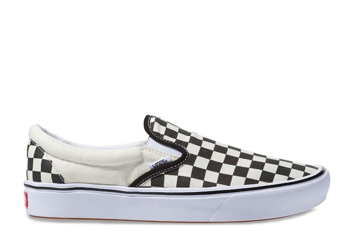 Vans ComfyCush Slip-On Checkerboard / True White