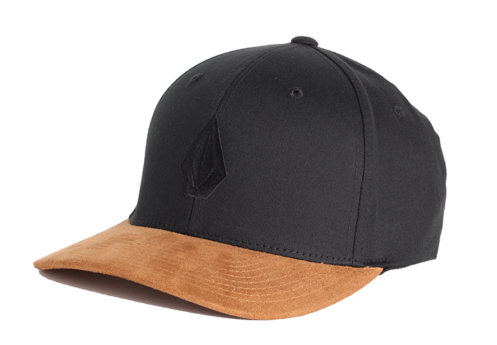 Volcom Full Stone Heather XFit Cap Mud