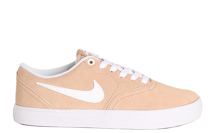 Nike SB Womens Check Solarsoft Bio Beige / White