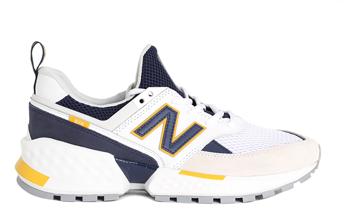 New Balance 574 Sport White / Pigment