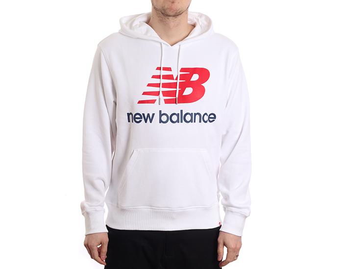 New Balance Essentials Pullover Hoodie White