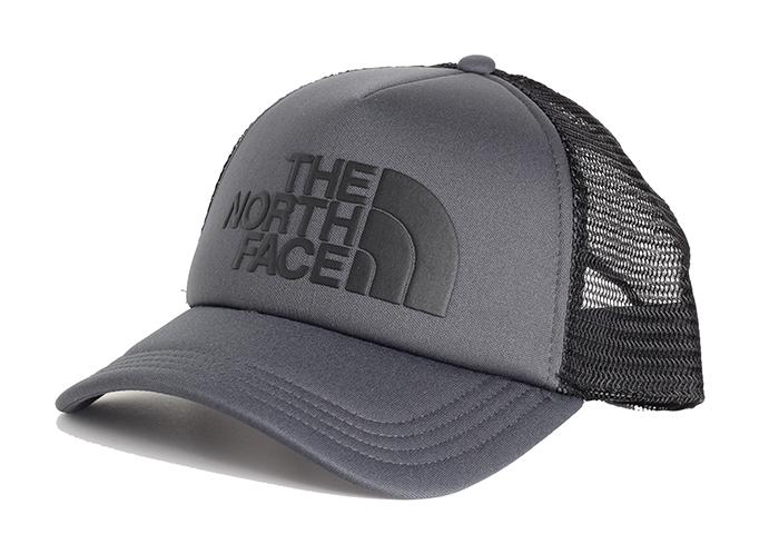 The North Face TNF Logo Trucker Asphalt Grey / TNF Black