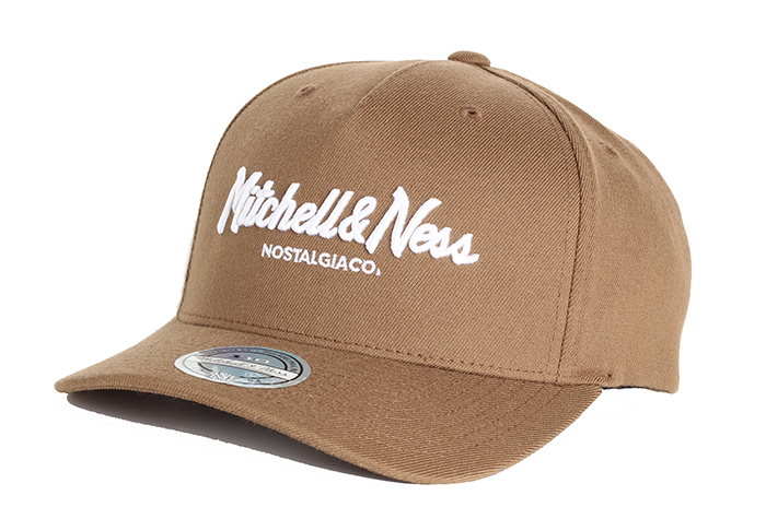 Mitchell & Ness Pinscript 110 Snapback Chocolate