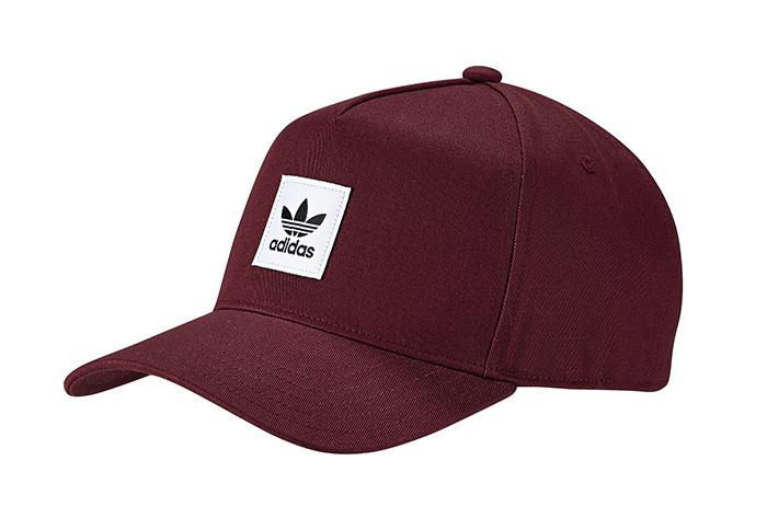 new concept meet newest Adidas Originals A-Frame Cap Night Red - Boardvillage