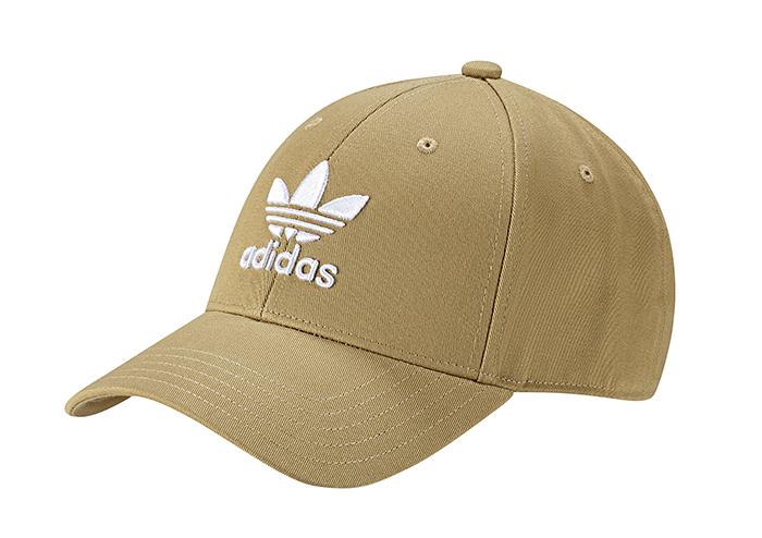 Adidas Originals Trefoil Baseball Cap Raw Sand / White