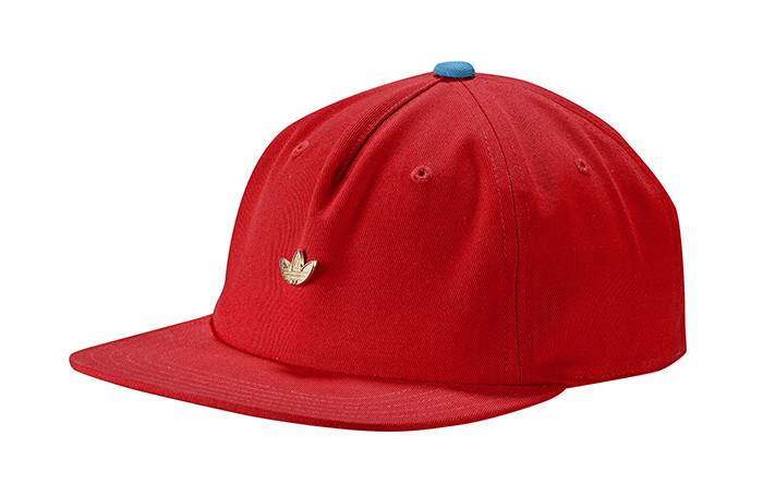 Adidas Originals Samstag Archive Cap Active Red / Shock Cyan