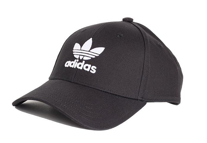 Adidas Originals Trefoil Baseball Cap Black / White