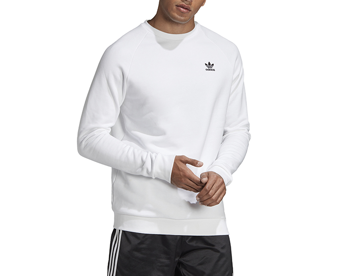 Adidas Originals Essential Crewneck Sweatshirt White