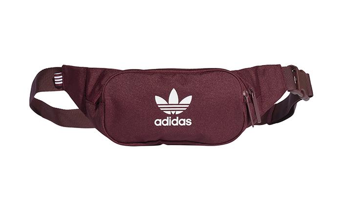 d43943bb44d0 Adidas Originals Essential Crossbody Bag Night Red - Boardvillage