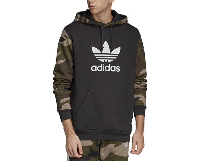 Adidas Originals Camouflage Hoodie Utility Black Boardvillage