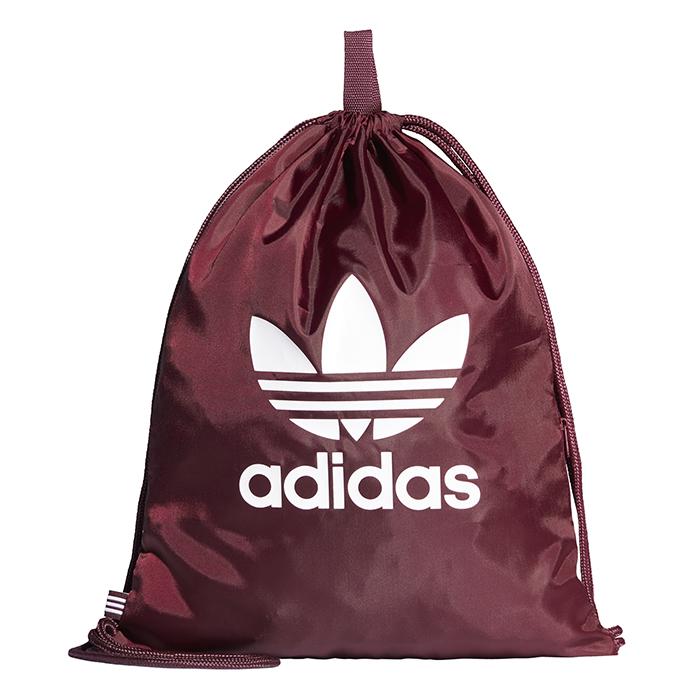 Adidas Trefoil Gym Sack Maroon / White
