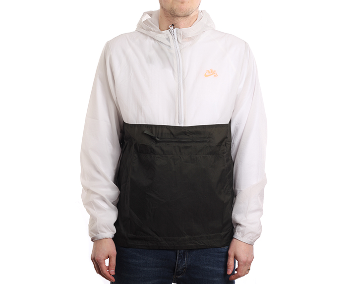 Nike SB Anorak Jacket Vast Grey / Sequoia / Orange Pulse