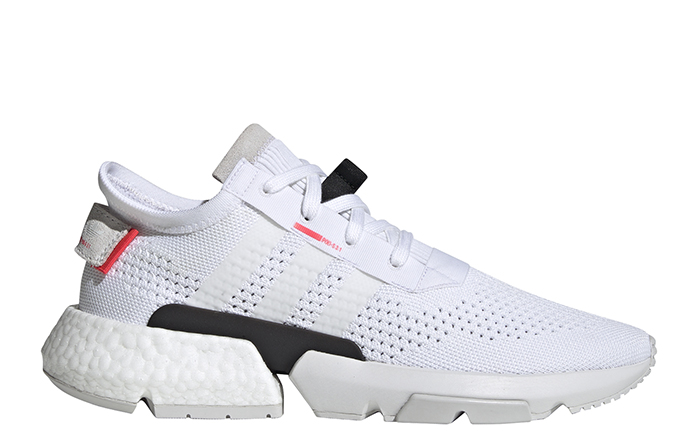 Adidas POD - S3.1 Cloud White / Cloud White / Shock Red
