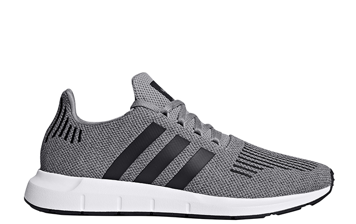 Adidas Swift Run Grey Three / Core Black / Medium Grey Heather
