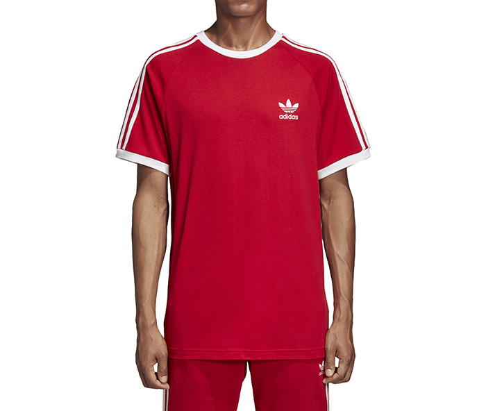 Adidas Originals 3-Stripes Tee Power Red