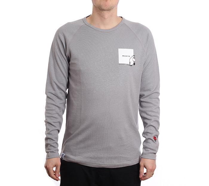 Makia X Moomin Kiltti Long Sleeve Grey