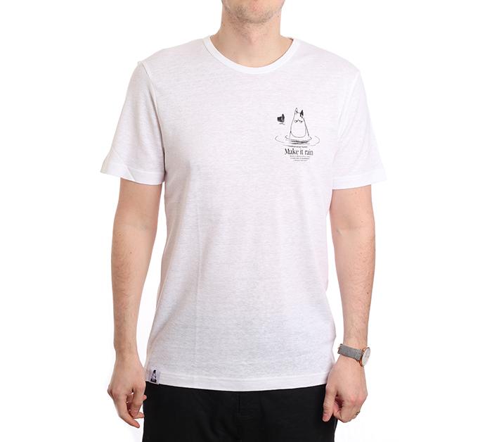 Makia X Moomin Kylpy T-Shirt White