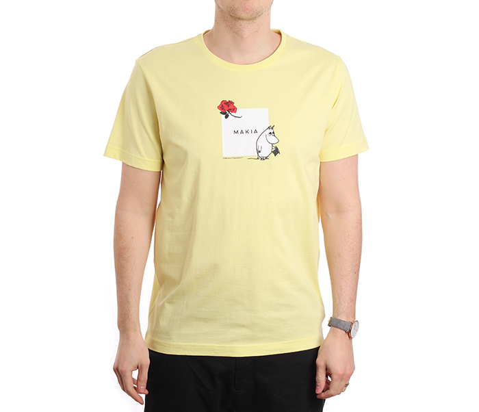 Makia X Moomin Sori T-Shirt Yellow